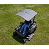Femco Gray Thermoplastic Lawn Mower Canopy