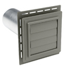 Durabuilt Louvered Exhaust Vent Aspen