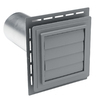 Durabuilt Louvered Exhaust Vent Blue Ridge