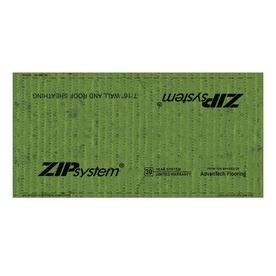 ZIP System OSB Sheathing 7/16 CAT PS2-10 (Common: 7/16 x 4-ft x 8-ft; Actual: 0.4375-in x 48-in x 96-in)