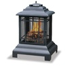 Blue Rhino 24.5-in W Black Cast Iron Wood-Burning Fire Pit