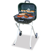 Master Forge Square Hunter Green Charcoal Grill
