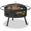 Blue Rhino 30-in W Bronze Steel Wood-Burning Fire Pit