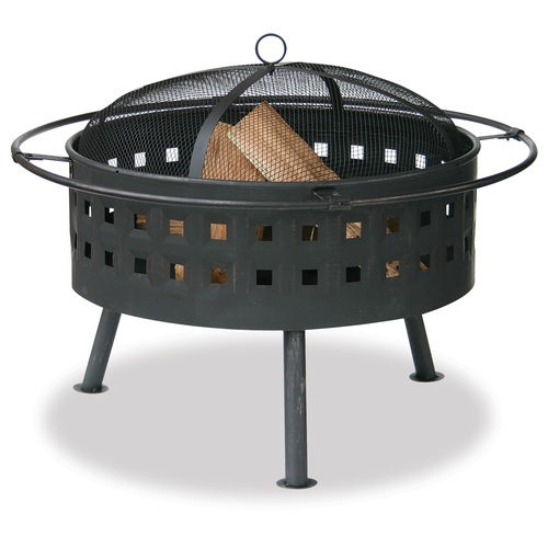 32 wood burning pit lowes backyard renovation