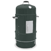 Master Forge 36-in H x 20.25-in W 376 sq in Baked Enamel Green Charcoal Vertical Smoker