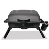Master Forge Portable Blue Gray 1 lb Cylinder Piezo Ignition Portable Gas Grill