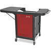 Blue Rhino Red Steel Grill Cart