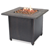 32-in W 30,000-BTU Brown Steel Liquid Propane Firebowl