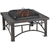 Blue Rhino 36-in W Black Steel Wood-Burning Fire Pit