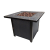 Endless Summer 30-in W 50,000-BTU Oil Rubbed Bronze Steel Liquid Propane Gas Fire Table