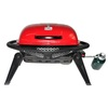 Blue Rhino Crossfire Red 12,000-BTU 240-sq in Portable Gas Grill