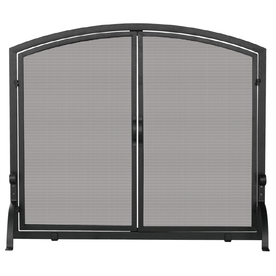 Lowes Fire Screens With Bronze Decor Powder Coated Steel 1 Panel