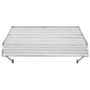 NuImage Awnings 48-in Wide x 42-in Projection Open Slope Door Awning