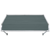NuImage Awnings 72-in Wide x 42-in Projection Open Slope Door Awning
