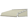 NuImage Awnings 48-in Wide x 36-in Projection Solid Slope Door Awning