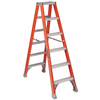 Louisville 7-ft Fiberglass 300-lb Type IA Step Ladder