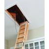 Louisville Elite 8-ft to 10-ft Type I Wood Attic Ladder