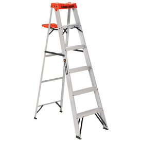 BLACK & DECKER 6-ft Aluminum 250-lb Type I Step Ladder