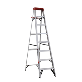 BLACK & DECKER 8-ft Aluminum 250-lb Type I Step Ladder