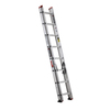 BLACK & DECKER 16-ft Aluminum 200-lb Type III Extension Ladder