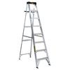 DEWALT 8-ft Aluminum 250-lb Type I Step Ladder