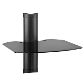 OmniMount Black Glass Shelves