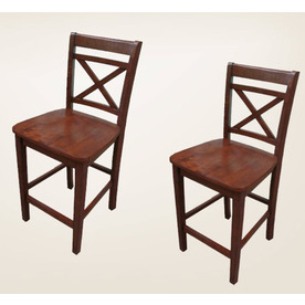 allen + roth Set of 2 Allen + Roth Mink Dining Chairs