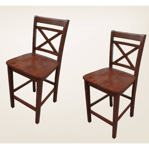 Allen roth mink x back dining chairs round wine storing for Dining room tables lowes