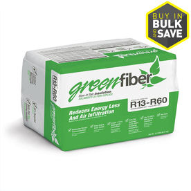 GreenFiber R60 40-sq ft Cellulose Blown-in Insulation with Sound Barrier