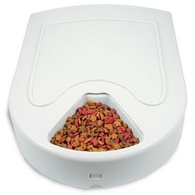 PetSafe Beige Plastic Pet Bowl