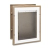 PetSafe Large Tan Aluminum Wall Pet Door (Actual: 15-in x 10-in)