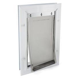 PetSafe Small White Aluminum Pet Door