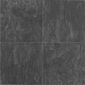 Columbia Flooring 15.59-in W x 1.29-ft L Evening Mist Smooth Laminate Tile and Stone Planks