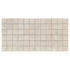 American Olean 12-Pack Costa Rei Pietre Bianca Ceramic Mosaic Square Indoor/Outdoor Floor Tile (Common: 12-in x 24-in; Actual: 12-in x 24-in)