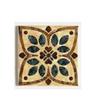 "American Olean 4-1/4"" x 4-1/4"" Decorative Design Geometric Ceramic Square Accent Tile"