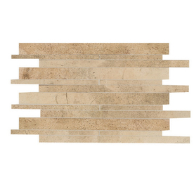 American Olean Costa Rei Oro Miele Mosaic Ceramic Wall Tile (Common: 12-in x 14-in; Actual: 12.12-in x 19.5-in)