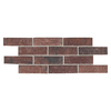 American Olean 36-Pack Union Square Courtyard Red Thru Body Porcelain Indoor/Outdoor Floor Tile (Common: 6-in x 8-in; Actual: 3.87-in x 8-in)