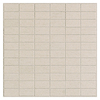 American Olean St. Germain 11-Pack Creme Subway Mosaic Thru Body Porcelain Floor Tile (Common: 12-in x 12-in; Actual: 11.5-in x 11.5-in)