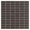 American Olean 11-Pack St. Germain Chocolat Thru Body Porcelain Mosaic Subway Indoor/Outdoor Floor Tile (Common: 12-in x 12-in; Actual: 11.5-in x 11.5-in)