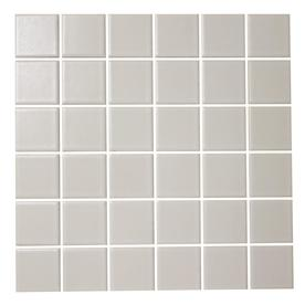 Shop American Olean Satinglo White Uniform Squares Mosaic
