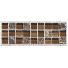 American Olean 2-in x 6-in Walnut Wall Tile SF5426MSCC1P