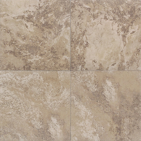 American Olean 6-in x 6-in Equinox Cocoa Glazed Porcelain Wall Tile