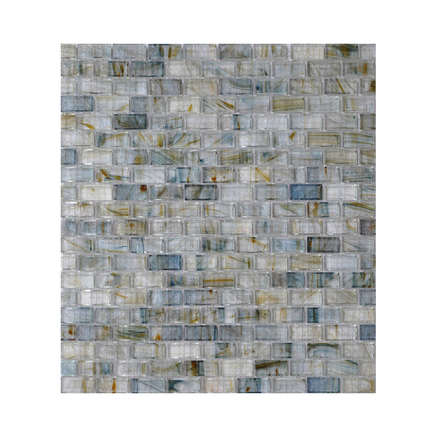 stream glass mosaic subway indoor outdoor wall tile common 13