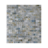 American Olean Visionaire Whispering Stream Subway Mosaic Glass Wall Tile (Common: 13-in x 13-in; Actual: 12.87-in x 12.87-in)