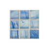American Olean Visionaire Clear Skies Uniform Squares Mosaic Glass Wall Tile (Common: 13-in x 13-in; Actual: 12.87-in x 12.87-in)