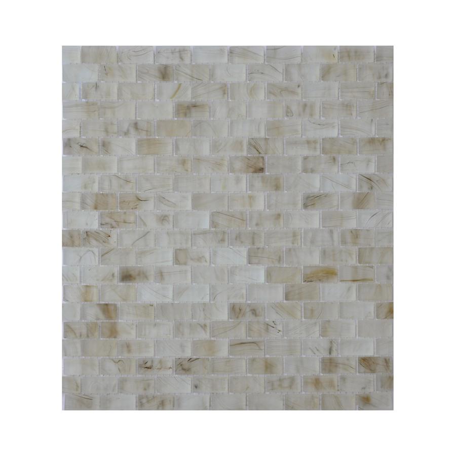 visionaire smokey ballad glass mosaic subway indoor outdoor wall tile