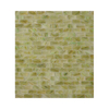 American Olean Visionaire Meadow Breeze Subway Mosaic Glass Wall Tile (Common: 13-in x 13-in; Actual: 12.87-in x 12.87-in)