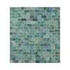 American Olean Visionaire Peaceful Sea Subway Mosaic Glass Wall Tile (Common: 13-in x 13-in; Actual: 12.87-in x 12.87-in)