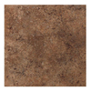American Olean 8-Pack 18-in x 18-in Vallano Dark Chocolate Glazed Porcelain Floor Tile