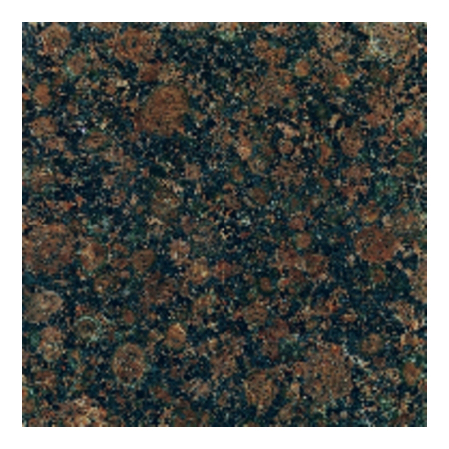 12 In Baltic Brown Polished Natural Granite Floor Tile At